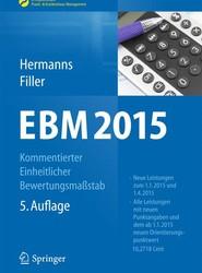 EBM 2015 - Kommentierter Einheitlicher Bewertungsmaßstab
