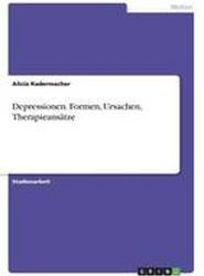 Depressionen. Formen, Ursachen, Therapieansatze