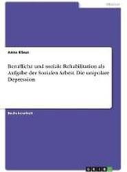 Berufliche Und Soziale Rehabilitation ALS Aufgabe Der Sozialen Arbeit. Die Unipolare Depression