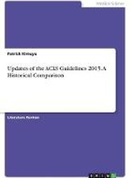 Updates of the ACLS Guidelines 2015. a Historical Comparison