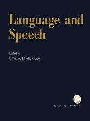 Language and Speech