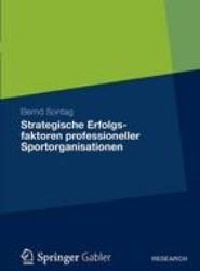 Strategische Erfolgsfaktoren Professioneller Sportorganisationen