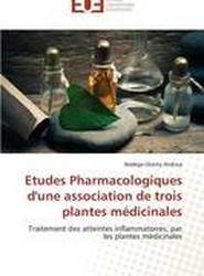 Etudes Pharmacologiques Dune Association de Trois Plantes Medicinales