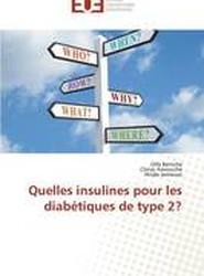 Quelles Insulines Pour Les Diabetiques de Type 2?
