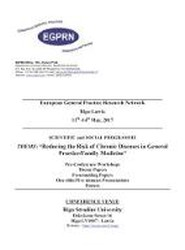 European General Practice Research Network (EGPRN), Riga-Latvia, 11-14 May 2017