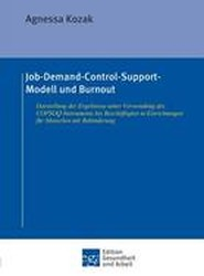 Job-Demand-Control-Support-Modell Und Burnout