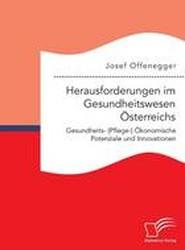Herausforderungen Im Gesundheitswesen Osterreichs. Gesundheits- (Pflege-) Okonomische Potenziale Und Innovationen