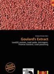 Goulard's Extract