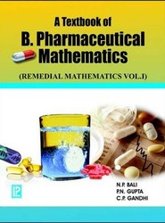 A Textbook of B. Pharmaceutical Mathematics