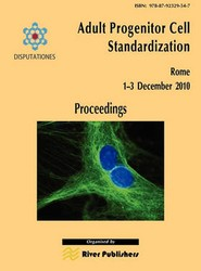 Adult Progenitor Cell Standardization-Proceedings