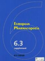 European Pharmacopoeia Supplement 6.3