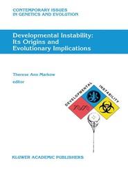 Developmental Instability: Its Origins and Evolutionary Implications