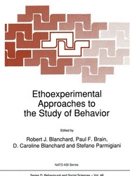 Ethoexperimental Approaches to the Study of Behavior