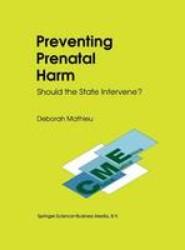 Preventing Prenatal Harm