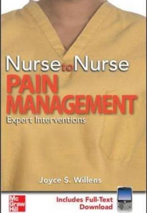 Nurse to Nurse Pain Management