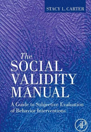 The Social Validity Manual