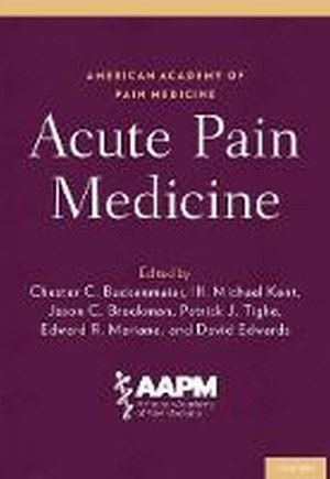 Acute Pain Medicine
