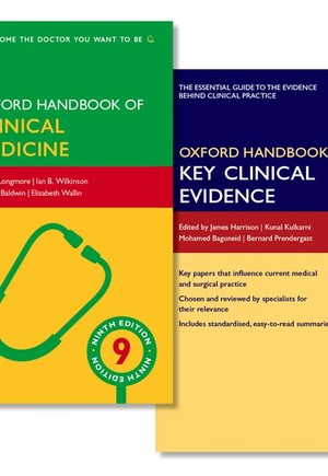 Oxford Handbook of Clinical Medicine and Oxford Handbook of Key Clinical Evidence Pack