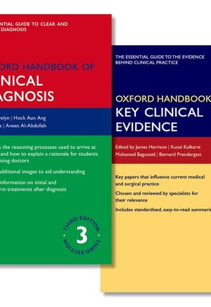 Oxford Handbook of Clinical Diagnosis and Oxford Handbook of Key Clinical Evidence Pack