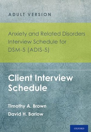 9780199325160 - Anxiety and Related Disorders Interview ...