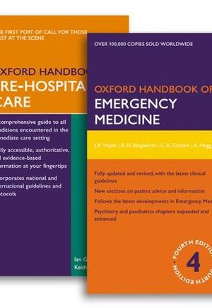 Oxford Handbook of Emergency Medicine and Oxford Handbook of Pre-Hospital Care Pack