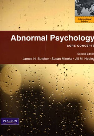 abnormal psychology 2 essay Abnormal psychology is the branch of psychology that studies unusual patterns of behavior, emotion and thought, which may or may not be understood as precipitating a mental disorder the science of abnormal psychology studies two types of behaviors: adaptive and maladaptive behaviors.