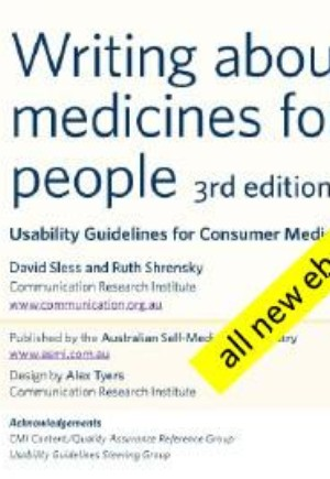 Writing about medicines for people