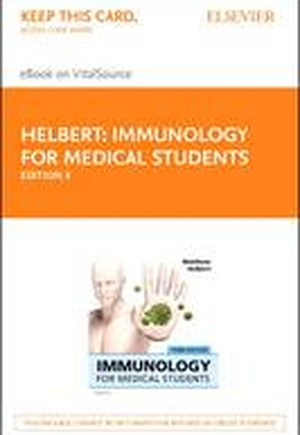 Immunology for Medical Students Elsevier eBook on VitalSource (Retail Access Card)