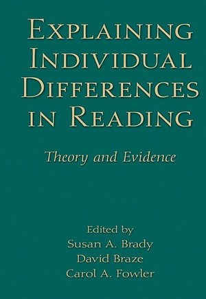 Explaining Individual Differences in Reading