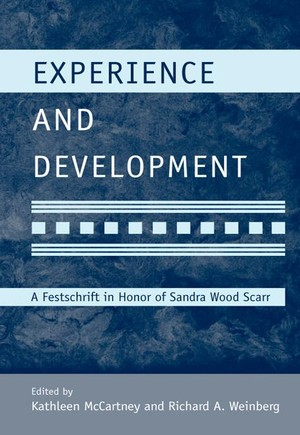 Experience and Development