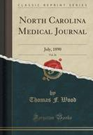North Carolina Medical Journal, Vol. 26