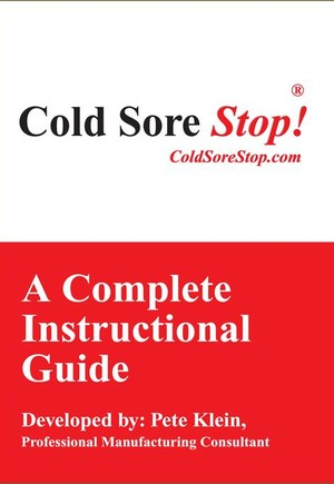 "Cold Sore Stop ""Complete Instructional Guide"""