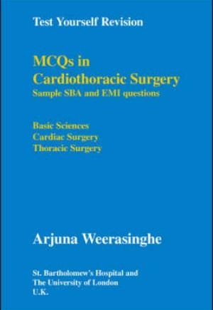 9781425158149 - MCQs in Cardiothoracic Surgery