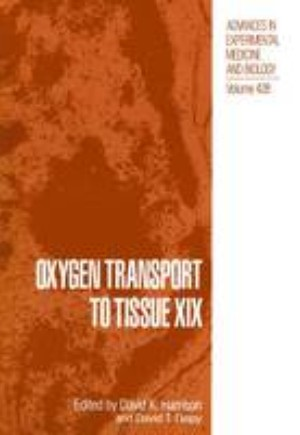 Oxygen Transport to Tissue XIX