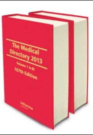 The Medical Directory 2013