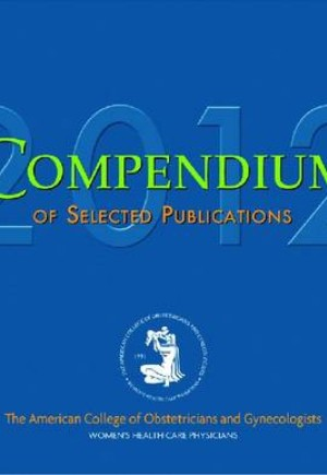 Compendium of Selected Publications CD Rom 2012