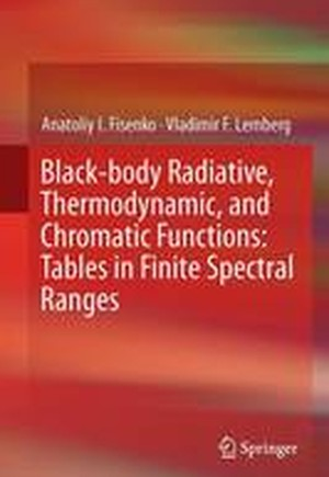 Black-Body Radiative, Thermodynamic, and Chromatic Functions 2016