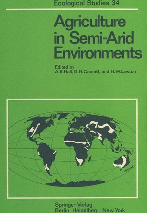 Agriculture in Semi-Arid Environments