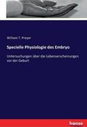 Specielle Physiologie Des Embryo