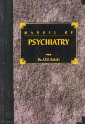 Manual of Psychiatry