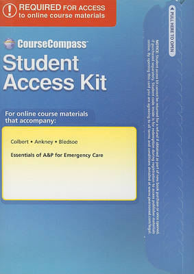 CourseCompass Student Access Code for Essentials of A&P for Emergency Care
