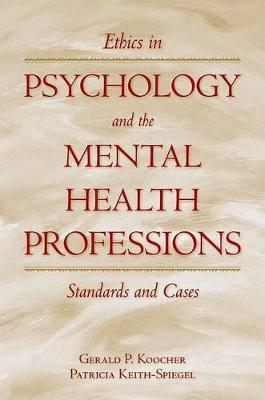 9780195149111 - Ethics in Psychology and the Mental Health ...