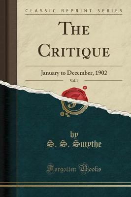 The Critique, Vol. 9