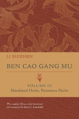 Ben Cao Gang Mu, Volume IV