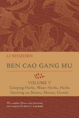 Ben Cao Gang Mu, Volume V