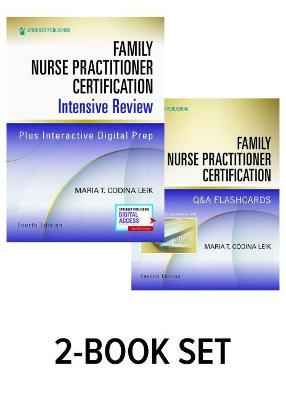 Family Nurse Practitioner Certification Intensive Review, Fourth Edition, and Q&A Flashcards Set