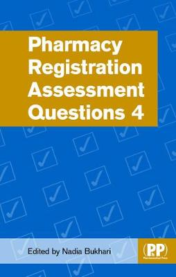 Pharmacy Registration Assessment Questions 4