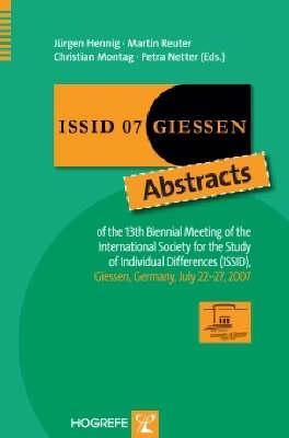 ISSID 07, Giessen