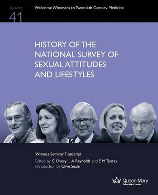 History of the National Survey of Sexual Attitudes and Lifestyles