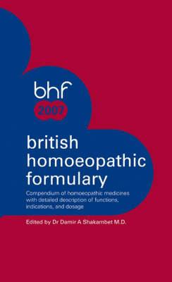 British Homoeopathic Formulary